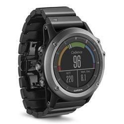 GPS Outdoor watch da polso fēnix 3 Silver (ghiera chiara-cinturino rosso)