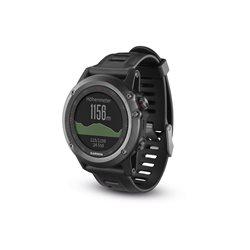 GPS Outdoor watch da polso fēnix 3 Gray performer bundle (cinturino nero) + CARDIO
